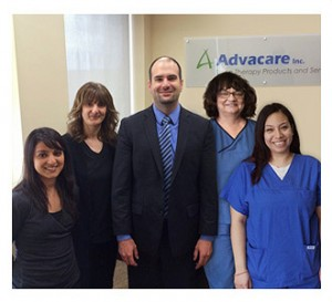 The friendly staff at Advacare Inc.