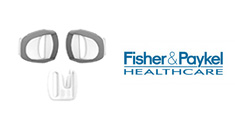 Fisher & Paykel Vitera Headgear Clips and Forehead Clip