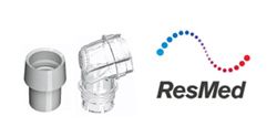 ResMed Elbow Assembly for Activa, SoftGel and Micro